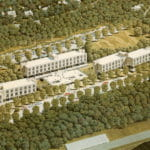 Lehigh University Residence Hall in 1962