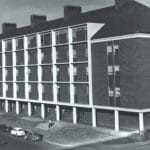 Oklahoma State University's Engineering North Building in 1965