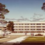 Oklahoma Medical Center Basic Science Building in 1967