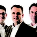 Jason Holuby, Gene Brown, and John Osborne