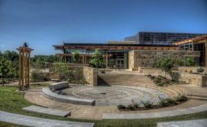 Chickasaw Nation Visitor Center Ampitheatre Sulphur Oklahoma