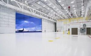usace sof hangar hangar interior doors open cannon afb nm