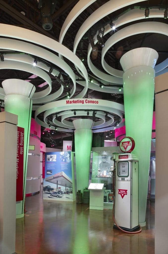 Conoco Museum, interior photo