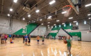 eps heartland middle school interior gym edmond ok
