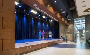 eps heartland middle school interior stage edmond ok