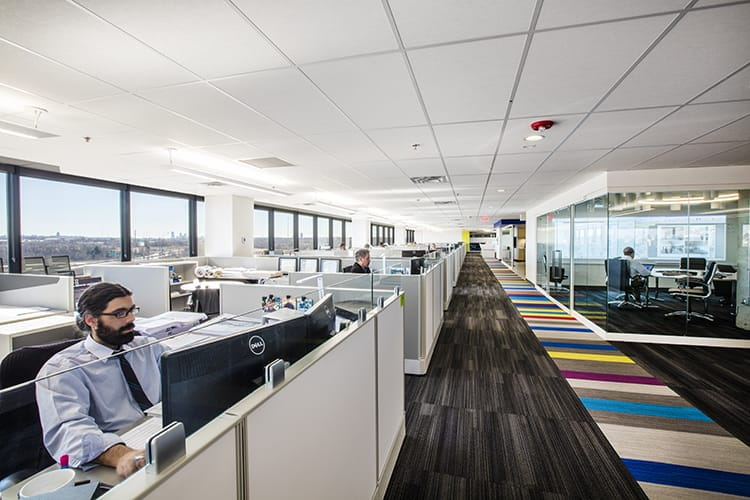 . Creating tailored corporate workspaces aligned with the latest