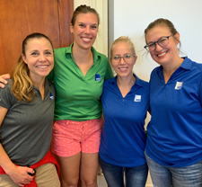 FSB employees volunteering at Adelaide Lee Elementary School in Oklahoma City