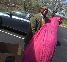 FSB employees donated gowns to the Great Gown Affair