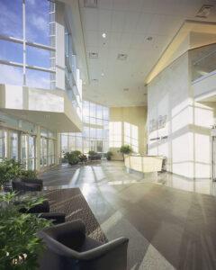 Hertz Administration Building Lobby