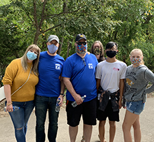 FSB employees and their families enjoy the day at the Oklahoma City Zoo to celebrate the firm's 75th anniversary