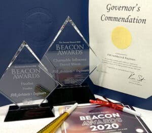 FSB is the overall winner for the Charitable Influence category at The Journal Record 2020 Beacon Awards