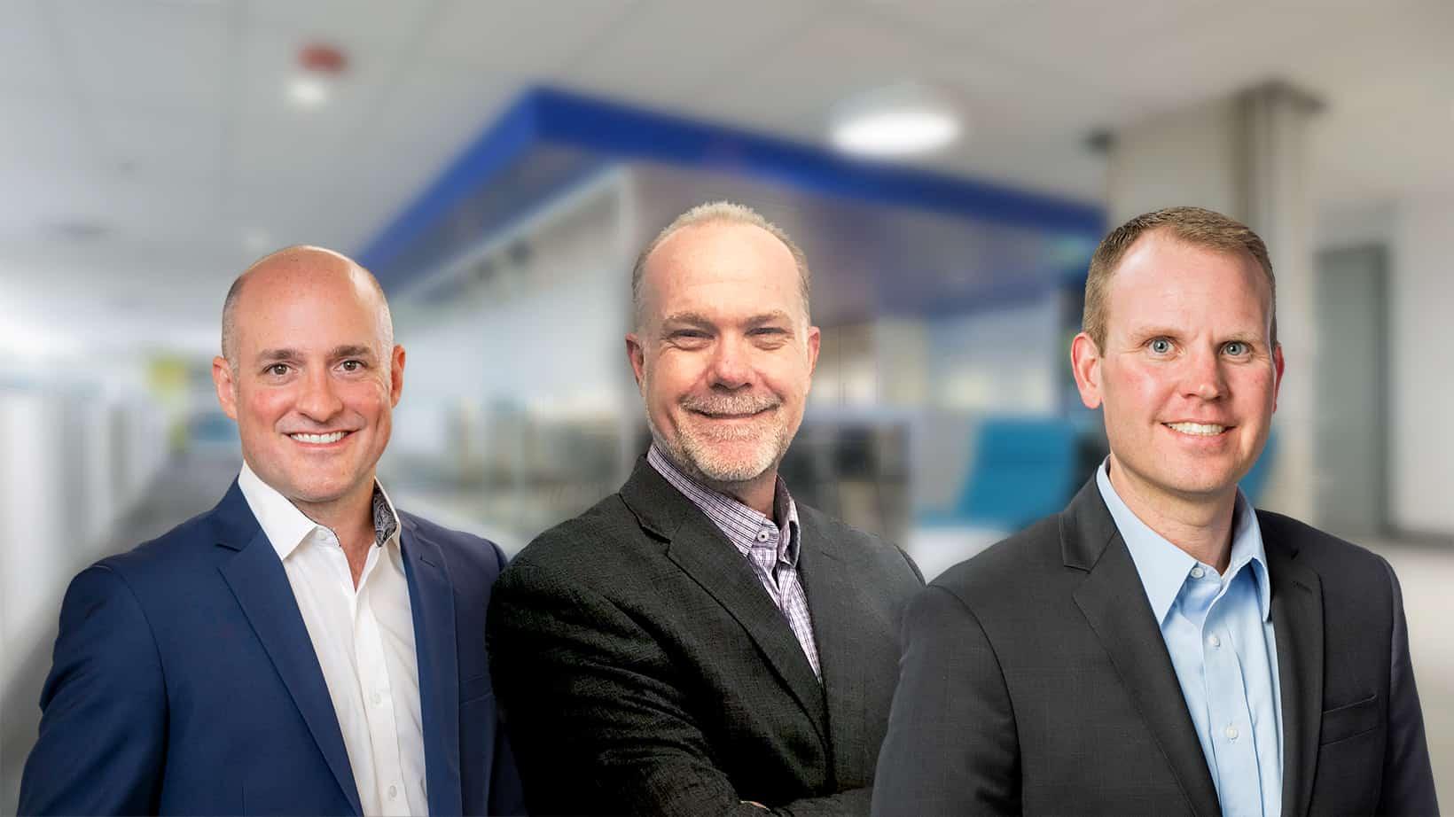 Aaron Campbell, Mark Timbrook and Brian Sauer